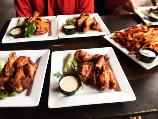 Food Fridays: Smoked then Fried Wings